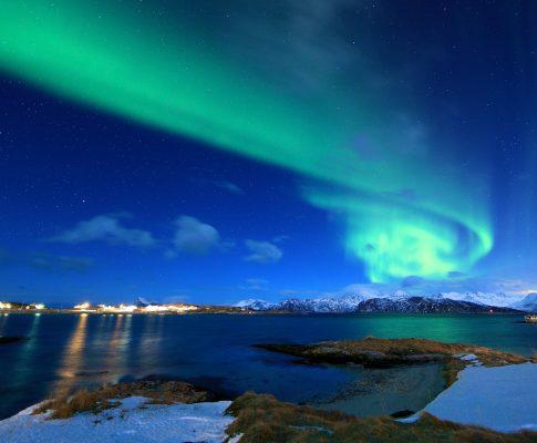 kniha sa odohráva v Nórsku